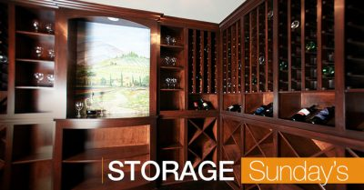 Storgae in our custom homes is plentiful