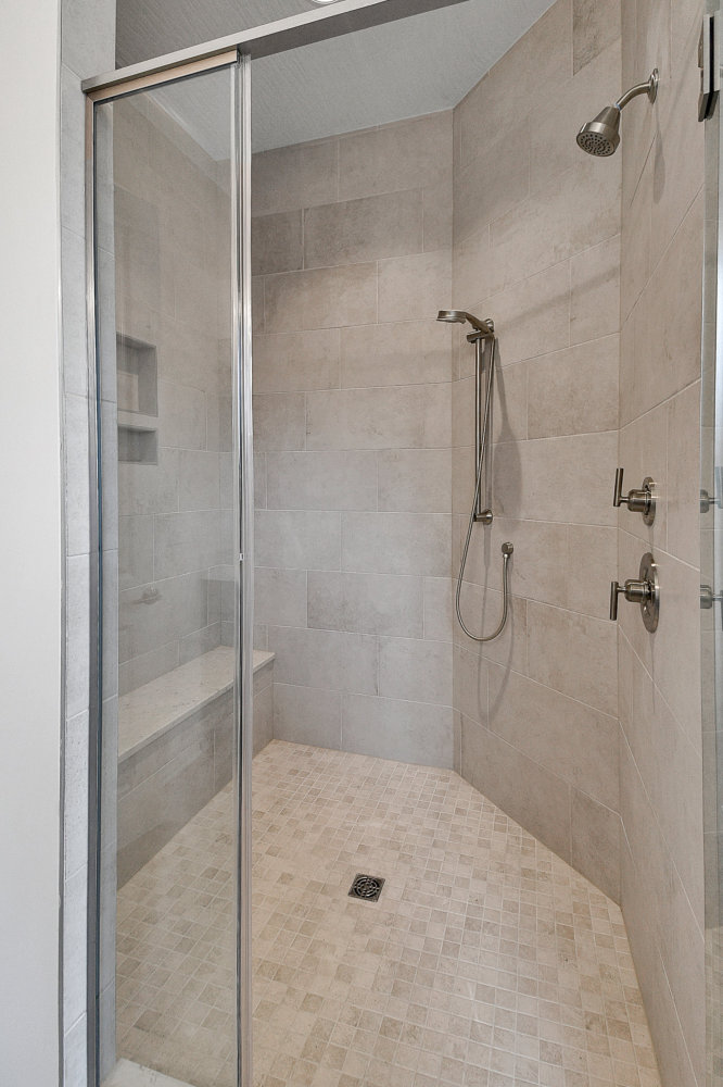 Bathroom shower coppertree homes builds custom built homes in central ohio 1