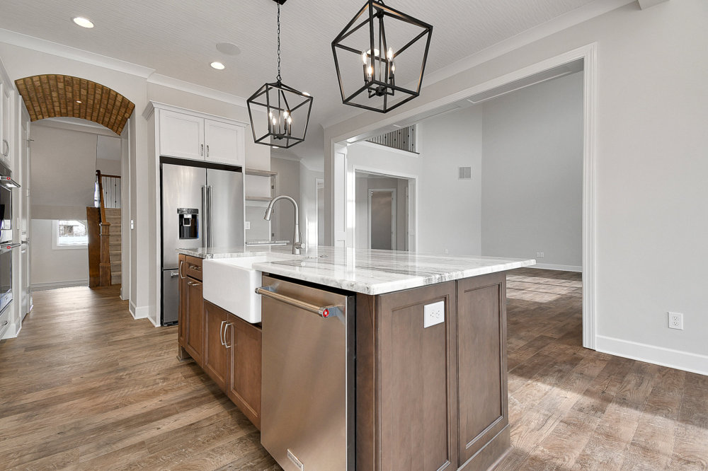 Kitchen coppertree homes builds custom built homes in central ohio 5