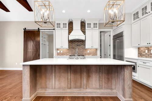 coppetree homes builds custom homes in central ohio kitchen view powell with pub home