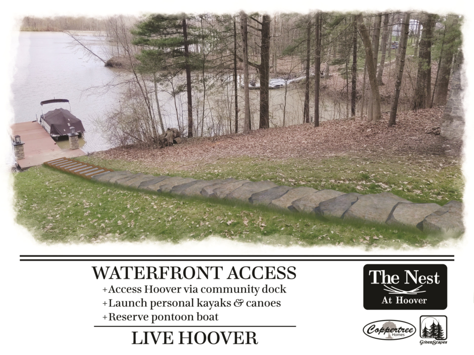 The Nest By Coppertree Homes Patio Home Development at Hoover Resevoir waterfront access reduced