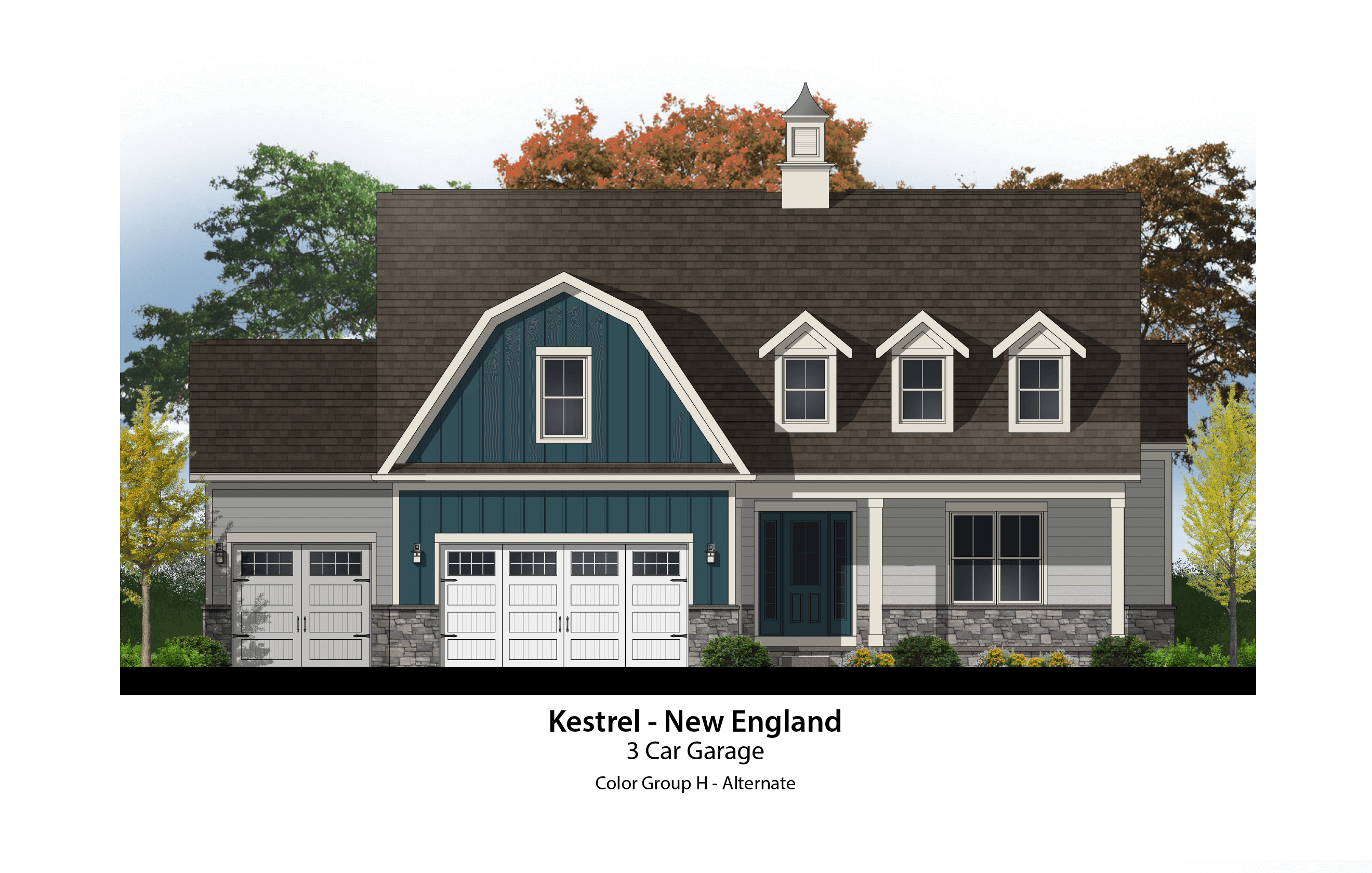 Kestrel New England 3 Car CG H ALTERNATE